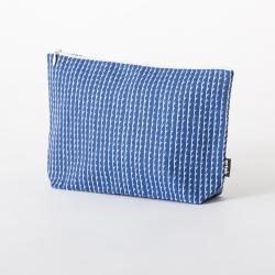 【アウトレット】 キャンバスポーチL ブルー / RIVI