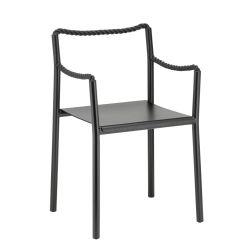 ロープチェア ブラック / Rope chair