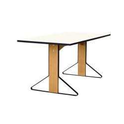 カアリテーブル REB012 / ホワイト W160×D80cm