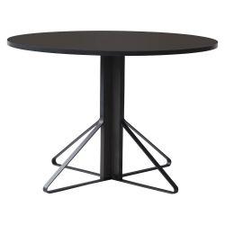 【アウトレット】カアリテーブル REB004 / ブラック φ110×H74cm