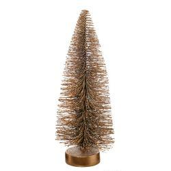 【アウトレット】 クリスマスツリー H25cm / ゴールド