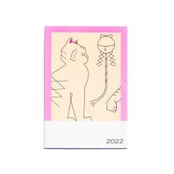 年賀状2022年 / おまいり