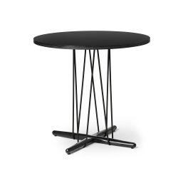 E020 エンブレイステーブル φ79.5cm ブラック / オーク材 ブラック塗装