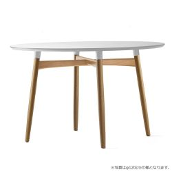 BA103 ダイニングテーブル  φ110cm / オーク材 オイルフィニッシュ