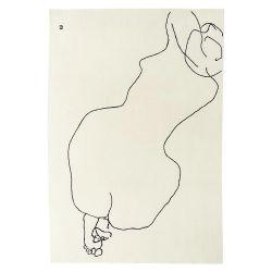 ラグマット 200×293cm / Figura humana 1948
