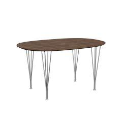 スーパー楕円テーブル / B611 ウォールナット W135×D90cm