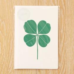 【アウトレット】グリーティングカード / Four Leaf Glover