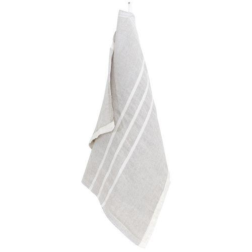ウスバ ハンドタオル 48×70cm リネンホワイト / USVA (LAPUAN KANKURIT / ラプアンカンクリ)