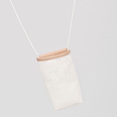 Funda スマホ・カードケース / White ホワイト (Hanska)