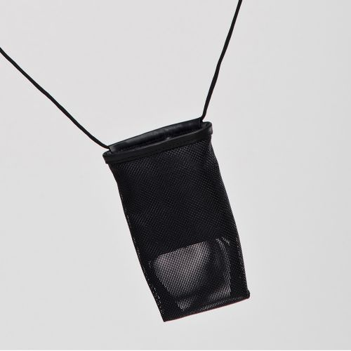 Funda スマホ・カードケース / Black ブラック (Hanska)