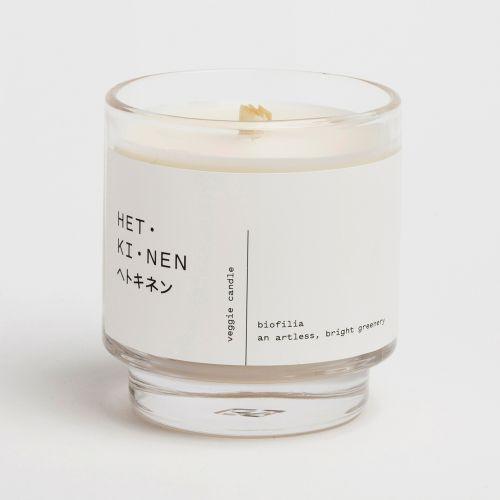 Veggie candle ベジキャンドル / Biofilia (HET・KI・NEN / ヘトキネン)