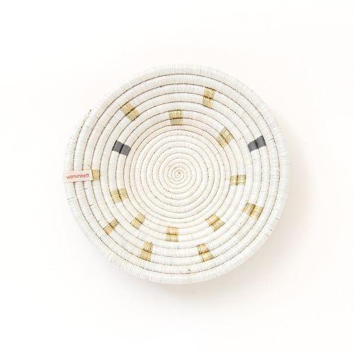 【在庫限り】ウォールハンギング & ボウル ダークグレー / Ikiba (Women Craft)
