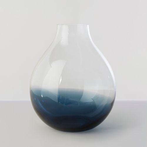 【在庫限り】フラワーベース Nina no.24 / インディゴブルー (Ro collection / ロー・コレクション)