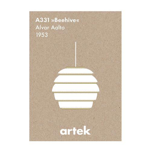 A331 ペンダント ビーハイブ ポスター (Artek / アルテック)