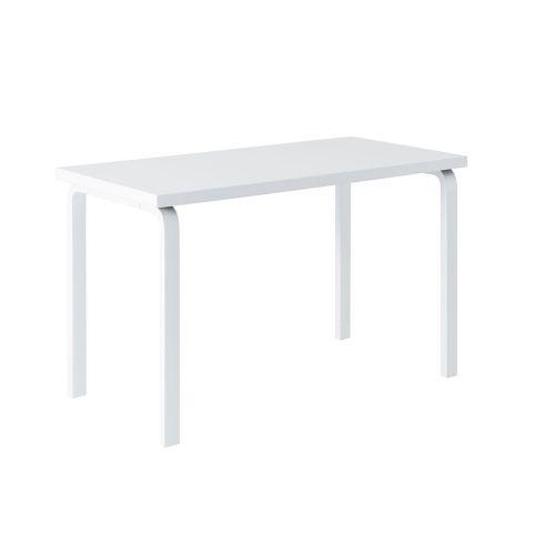 テーブル80A / ホワイトラッカー W120×D60cm (Artek / アルテック)