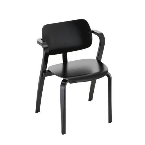 アスラック チェア ブラックラッカー / Aslak chair (Artek / アルテック)