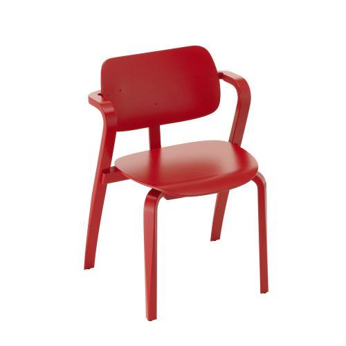 アスラック チェア レッドラッカー / Aslak chair (Artek / アルテック)