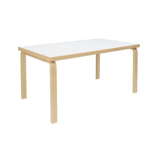 テーブル82A / ホワイトラミネート W150×D85cm (Artek / アルテック)