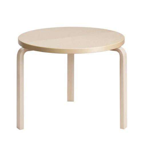 ローテーブル90B / バーチ φ75×H52cm (Artek / アルテック)
