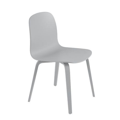 ビスチェア ウッドベース グレー / Visu Chair (muuto / ムート)