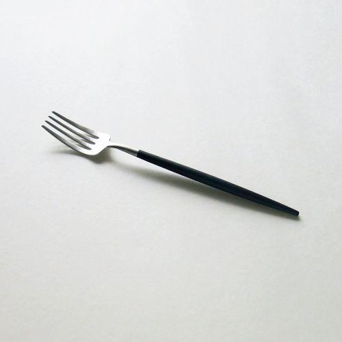 クチポール デザートフォーク ゴア / ブラック×シルバー (Cutipol GOA)