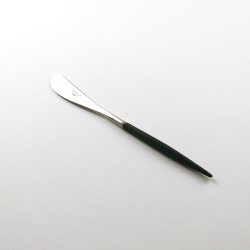 クチポール バターナイフ ゴア / ブラック×シルバー (Cutipol GOA)