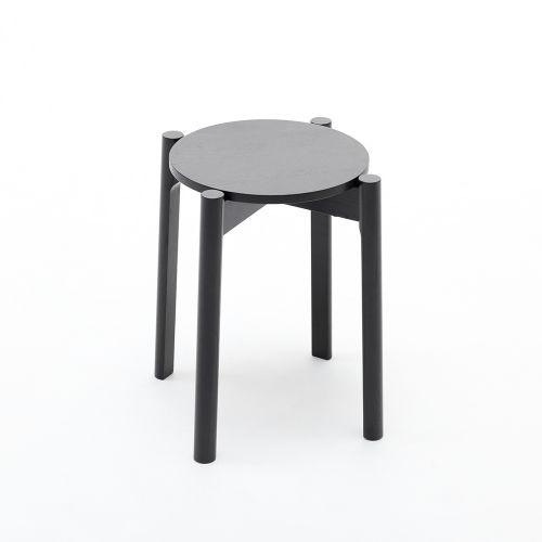 キャストールスツールプラス Castor Stool Plus / ブラック (カリモクニュースタンダード)