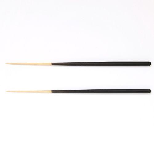 箸 STIIK スティック 2膳セット / チャコールグレー (KURA / クラ)