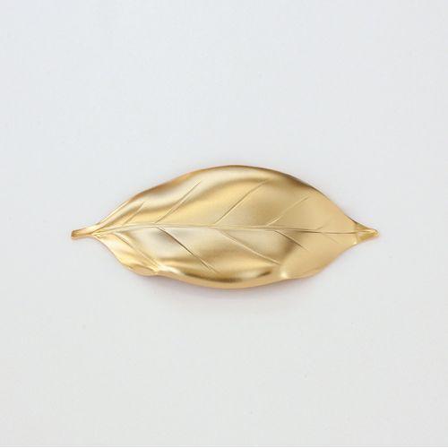 葉枝おき(箸置き) / ゴールド