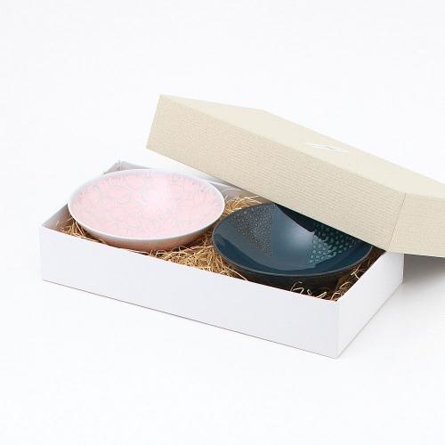 平形めし茶碗ペアギフトボックス