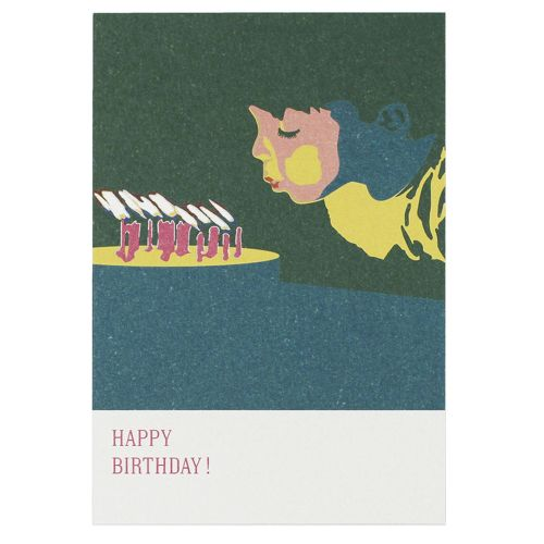 Happy Birthday カード / ロウソク (D-BROS / ディーブロス)