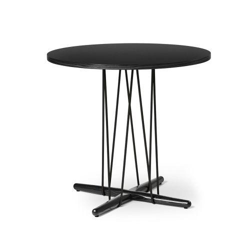 E020 エンブレイステーブル φ79.5cm ブラック / オーク材 ブラック塗装 (Carl Hansen & Son / カールハンセン&サン)