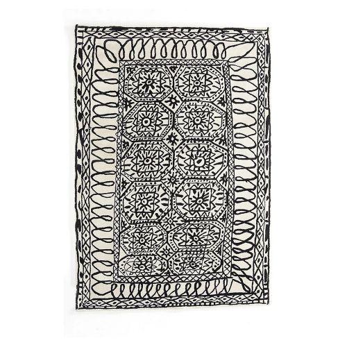 Black on White Estambul / ラグマット 170×255cm / イスタンブール (nanimarquina / ナニマルキーナ)