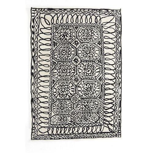 Black on White Estambul / ラグマット イスタンブール / 200×300cm (nanimarquina / ナニマルキーナ)