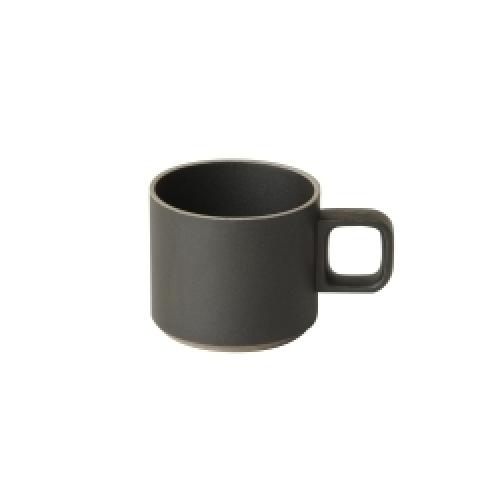 マグカップ HPB019 / ブラック (HASAMI PORCELAIN / ハサミポーセリン)