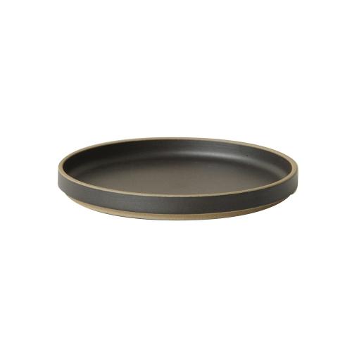 プレート 18.5cm HPB003 / ブラック (HASAMI PORCELAIN / ハサミポーセリン)