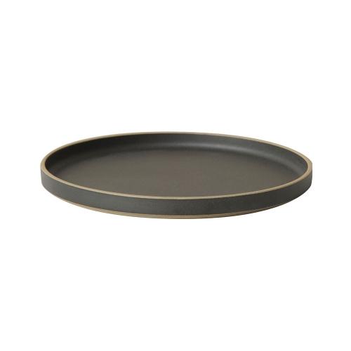 プレート 25.5cm HPB005 / ブラック (HASAMI PORCELAIN / ハサミポーセリン)