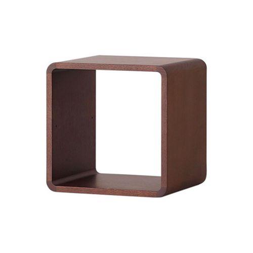 収納ボックスW350 / ウォールナット (Brick Block / ブリックブロック)