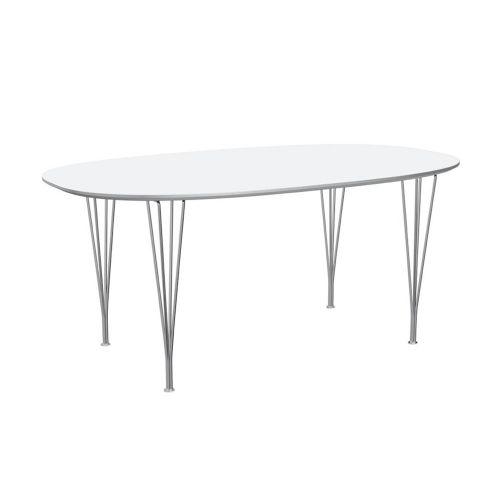 スーパー楕円テーブル ホワイト W170×D100cm / Super Ellipse B616 (Fritz Hansen / フリッツ・ハンセン)