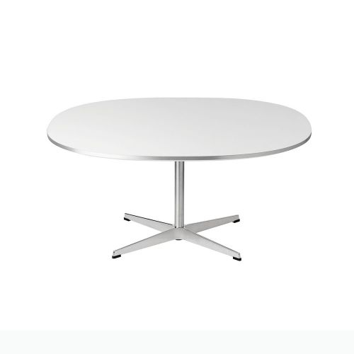 スーパー円コーヒーテーブル / A203 ホワイト W100×D100cm (Fritz Hansen / フリッツ・ハンセン)