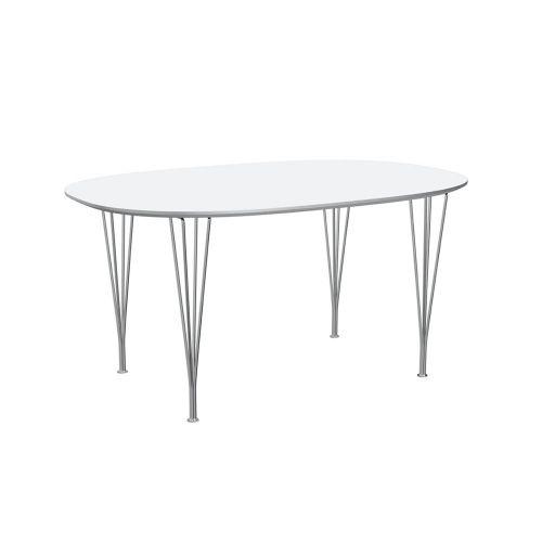 スーパー楕円テーブル ホワイト W150×D100cm / Super Ellipse B612 (Fritz Hansen / フリッツ・ハンセン)