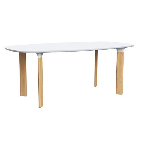 アナログテーブル ホワイト W185×D105cm / Analog JH63 (Fritz Hansen / フリッツ・ハンセン)