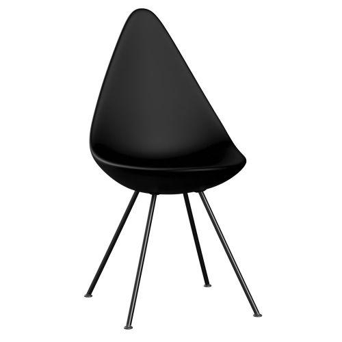 ドロップチェア ブラック / Drop 3110 (Fritz Hansen / フリッツ・ハンセン)
