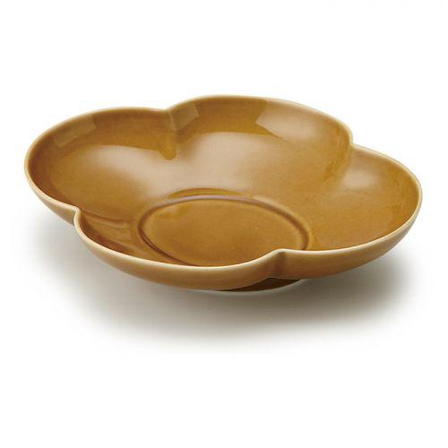 木瓜鉢7寸 うす飴 (瑞々 / ミズミズ)