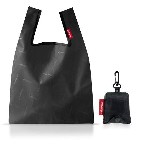 エコバッグ ミニマキシショッパー XS / Hotstamp black (reisenthel / ライゼンタール)