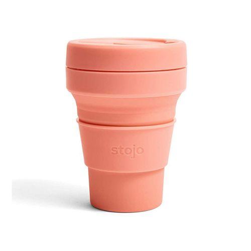【在庫限り】Stojo ポケットカップ 355ml / Apricot (ストージョ)