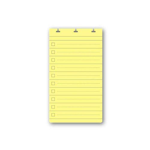 【アウトレット】 フレックスノート リフィル リストカード D3・A6変型 (アップワードノート)