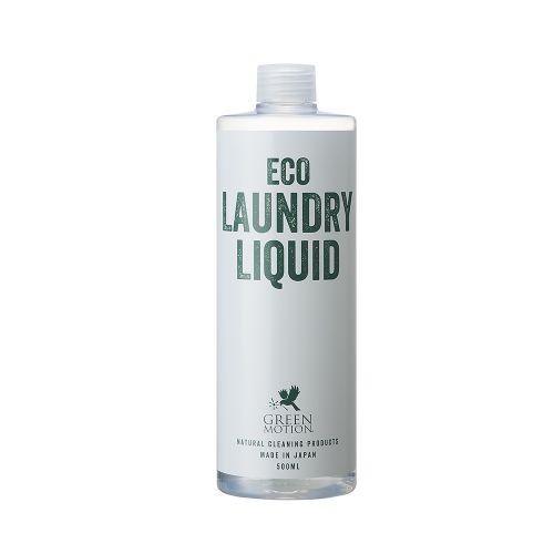 エコランドリーリキッド リフィル 500ml (GREEN MOTION / ECO LAUNDRY LIQUID)