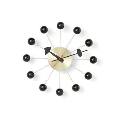 ボールクロック ブラック×ブラス / Ball Clock (vitra ヴィトラ)