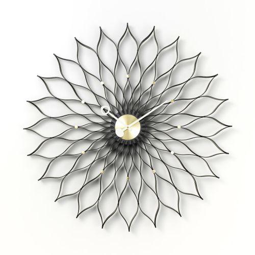 サンフラワー クロック ブラック アッシュ / Sunflower Clock  (vitra ヴィトラ)